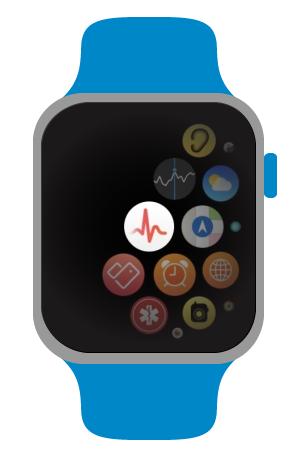 Apple Watch - Aplikace měření EKG